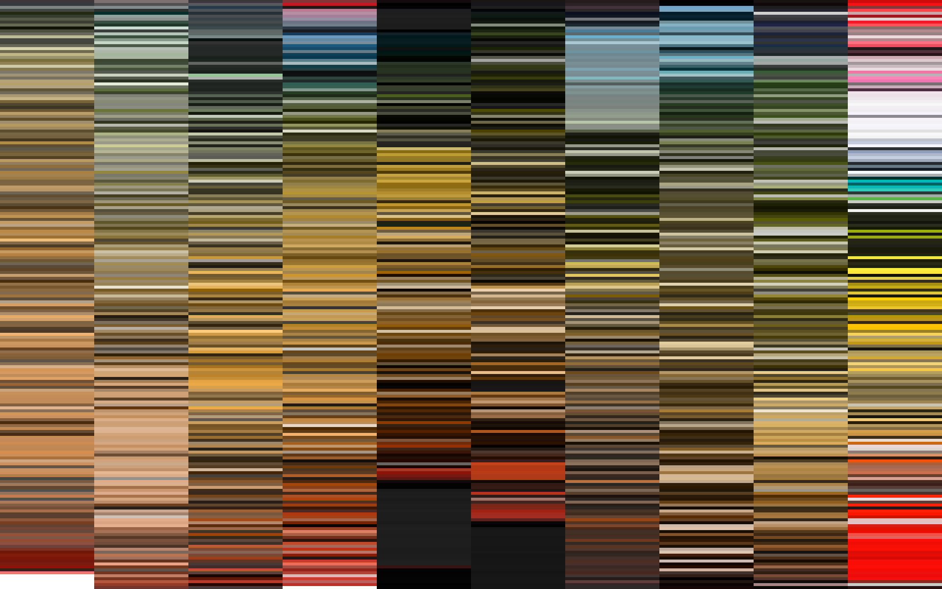 An Abridged History Of Color